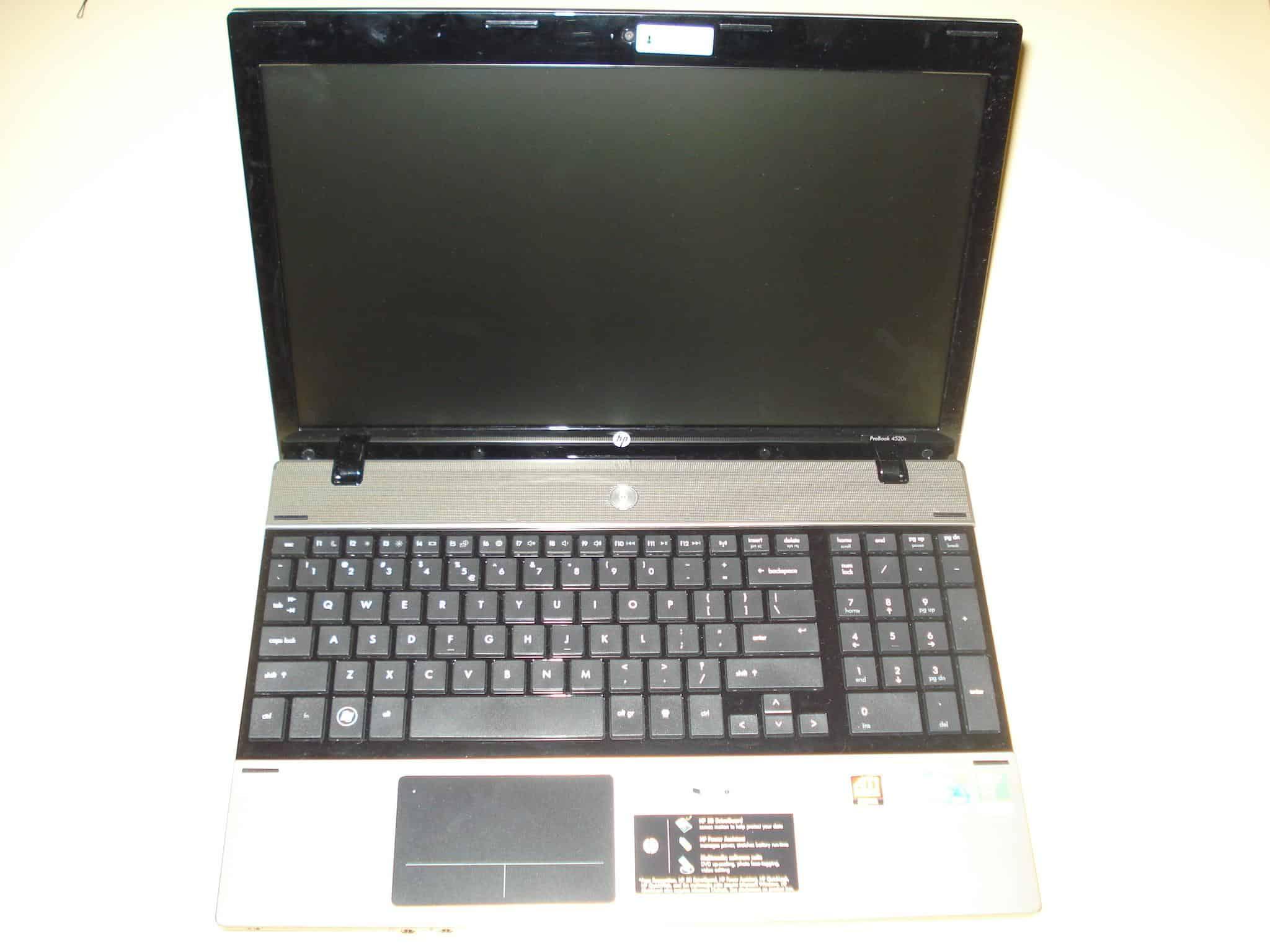 HP Probook 4520s Opened