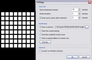 EyeDefender screenshot