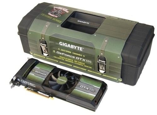 GigaByte Geforce GTX 590