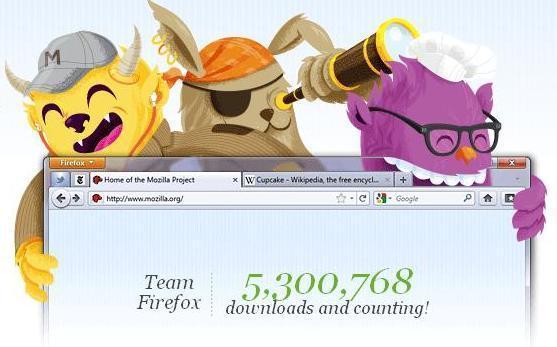 Mozilla Firefox 4