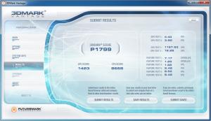 Asus K53SV 3DMark Vantage Intel