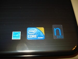 Dell Inspiron N5010 Stickers