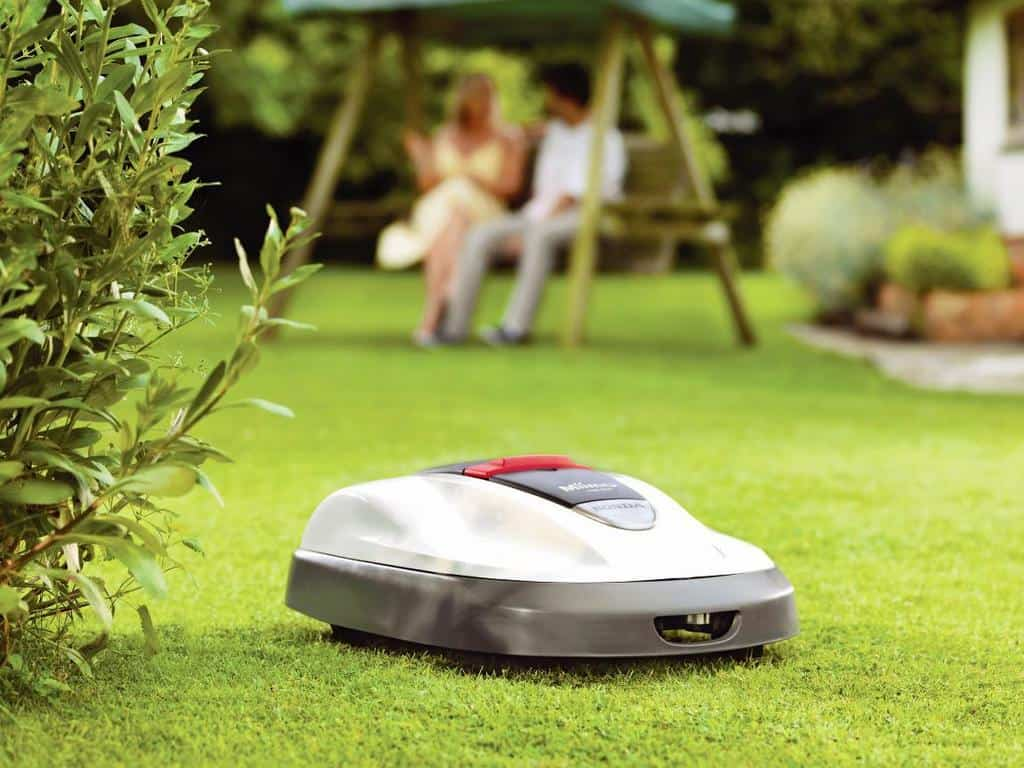robotic lawn mower honda