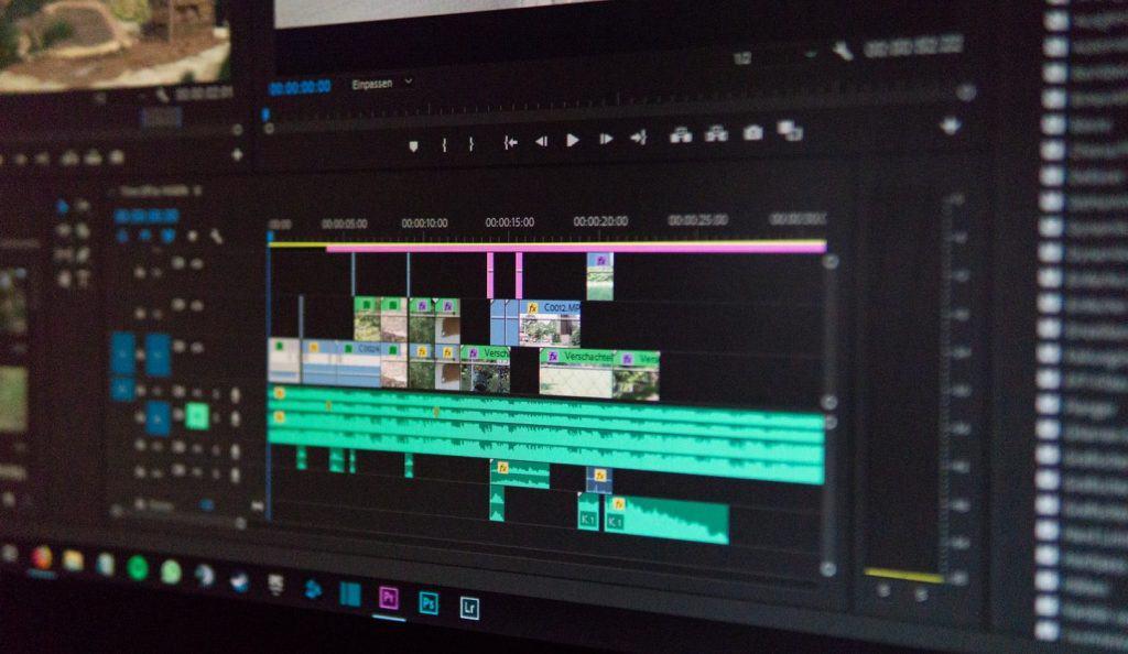 video editing software viewport