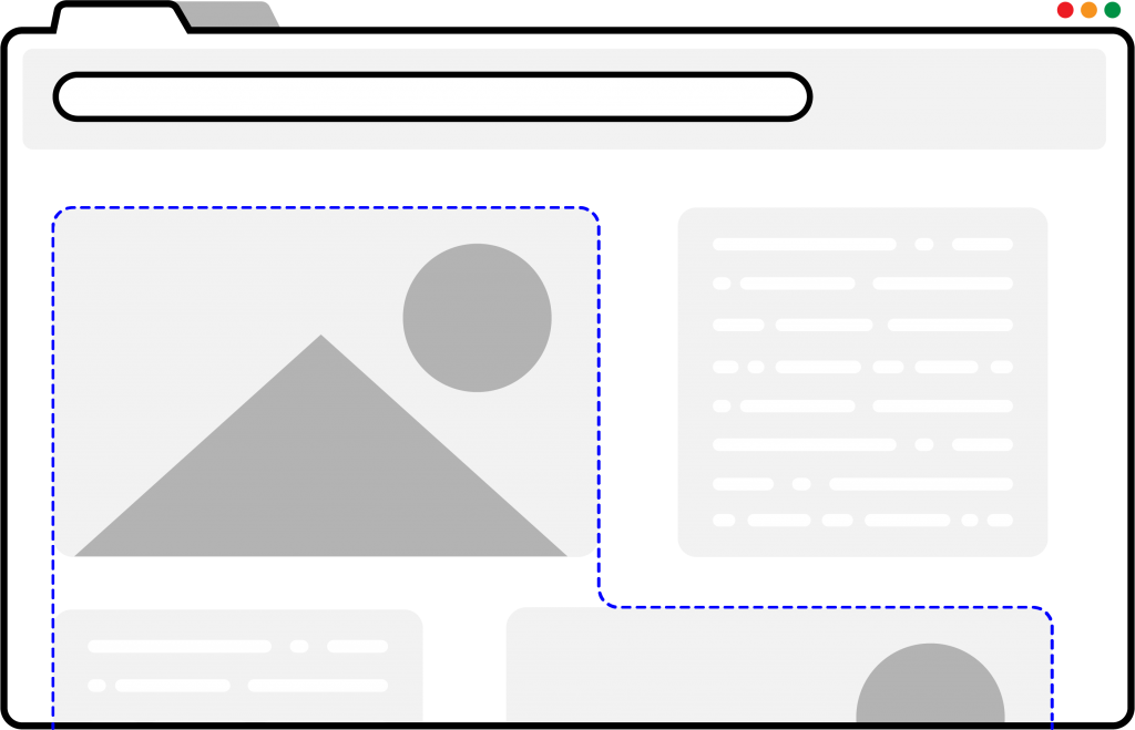 vector graphic of screenshot extension